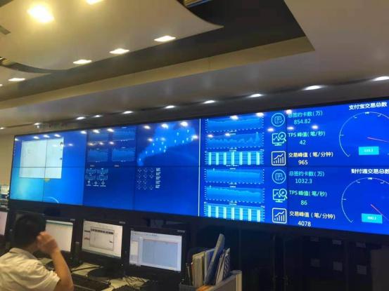 信弘55寸拼接屏方案_构建农信社大数据显示平台